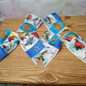 Mexican Loteria Large Hair Bows